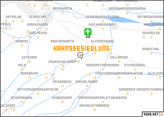 map of Hahnseesiedlung