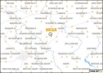 map of Haida