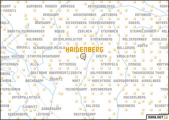 map of Haidenberg