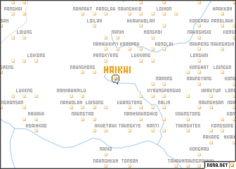 map of Hai-kwi