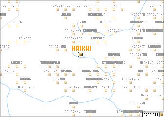 map of Hai-kwi