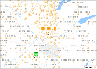map of Hainach