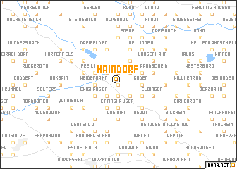 map of Haindorf