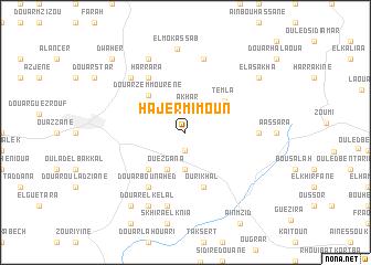 map of Hajer Mimoun