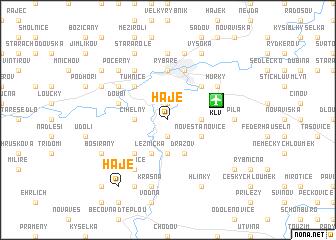 map of Háje