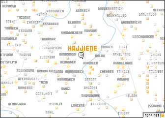 map of Hajjiene