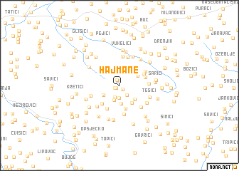 map of Hajmane