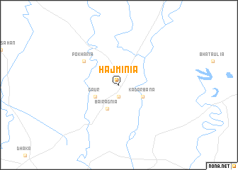map of Hajminia
