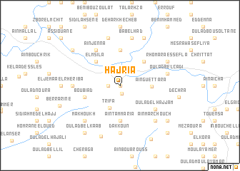 map of Hajria