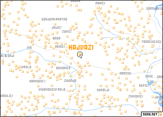 map of Hajvazi