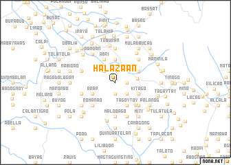 map of Halazaan