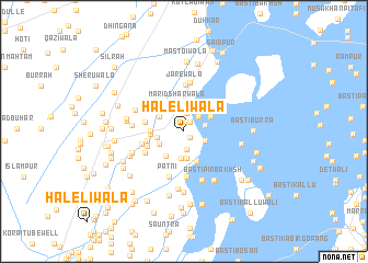 map of Haleliwāla