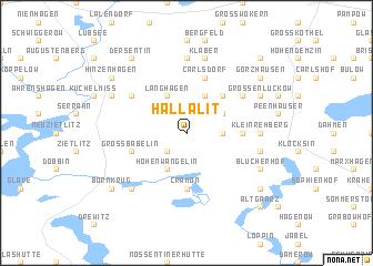 map of Hallalit