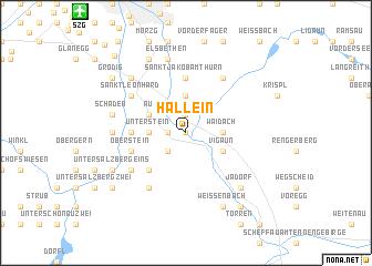 map of Hallein