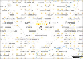 map of Haller