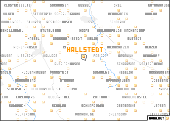 map of Hallstedt