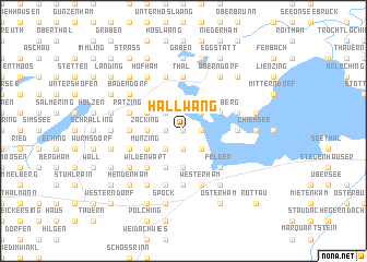map of Hallwang