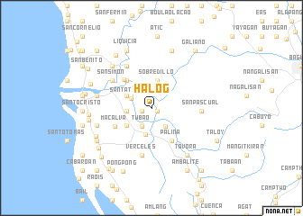 map of Halog