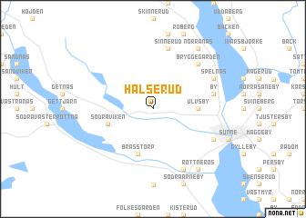 map of Hälserud