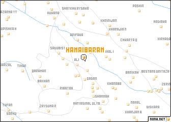 map of Hama-i Bārām