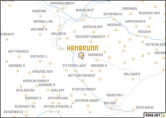 map of Hambrunn