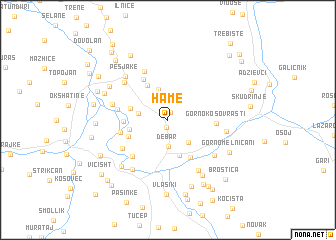 map of Hame