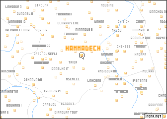 map of Hammadech