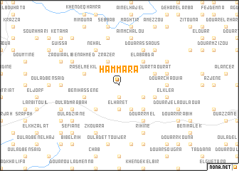 map of Hammara