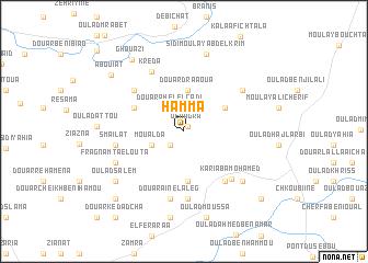 map of Hamma