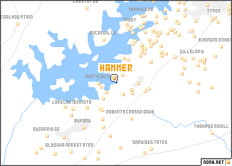map of Hammer
