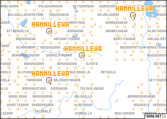 map of Hammillewa