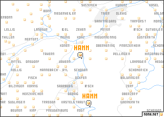 map of Hamm