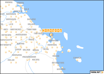 map of Hamoraon