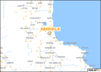 map of Hampipila