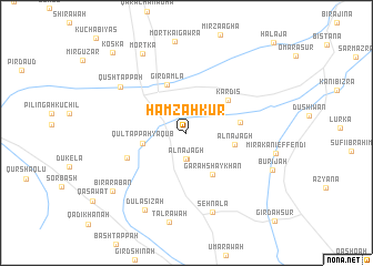 map of Ḩamzah Kūr