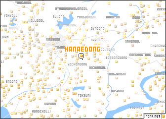 map of Hanae-dong