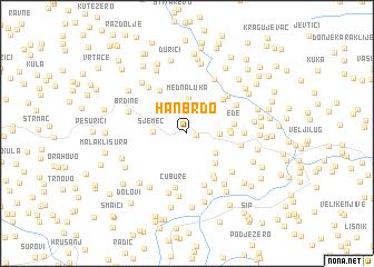 map of Han Brdo