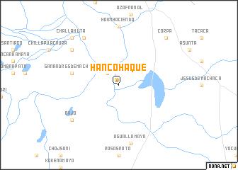 map of Hanco Haque