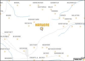 map of Handere
