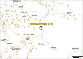 map of Han Garančića