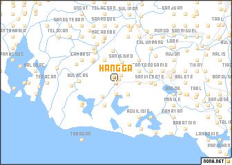 map of Hangga