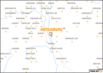 map of Hanghawng