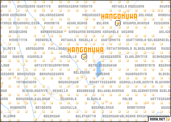 map of Hangomuwa