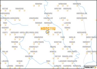 map of Hang-yiu