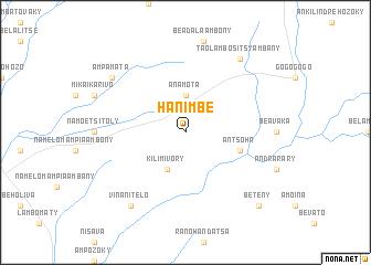 map of Hanimbe