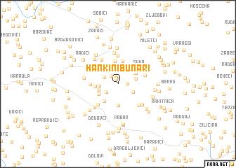 map of Hankini Bunari