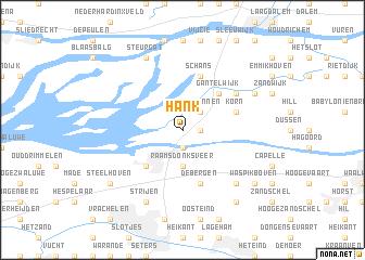 map of Hank