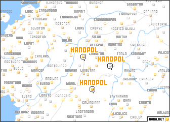 map of Hanopol