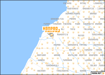 map of Han-pao