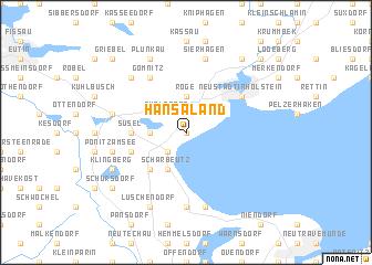 map of Hansaland